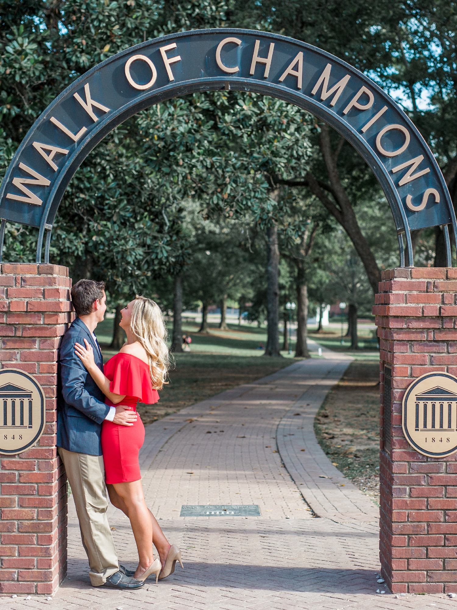 The Grove at Ole Miss Engagement Session_0008.jpg