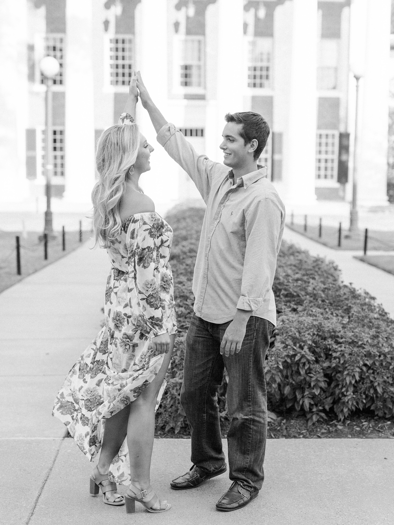 The Grove at Ole Miss Engagement Session_0024.jpg